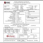 Quality Assurance Welder Qualification Test