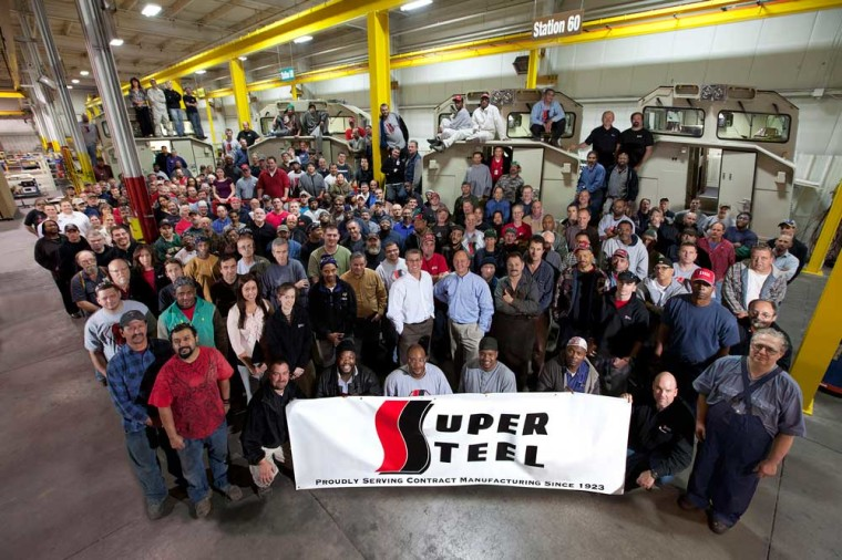 Super Steel Group Photo