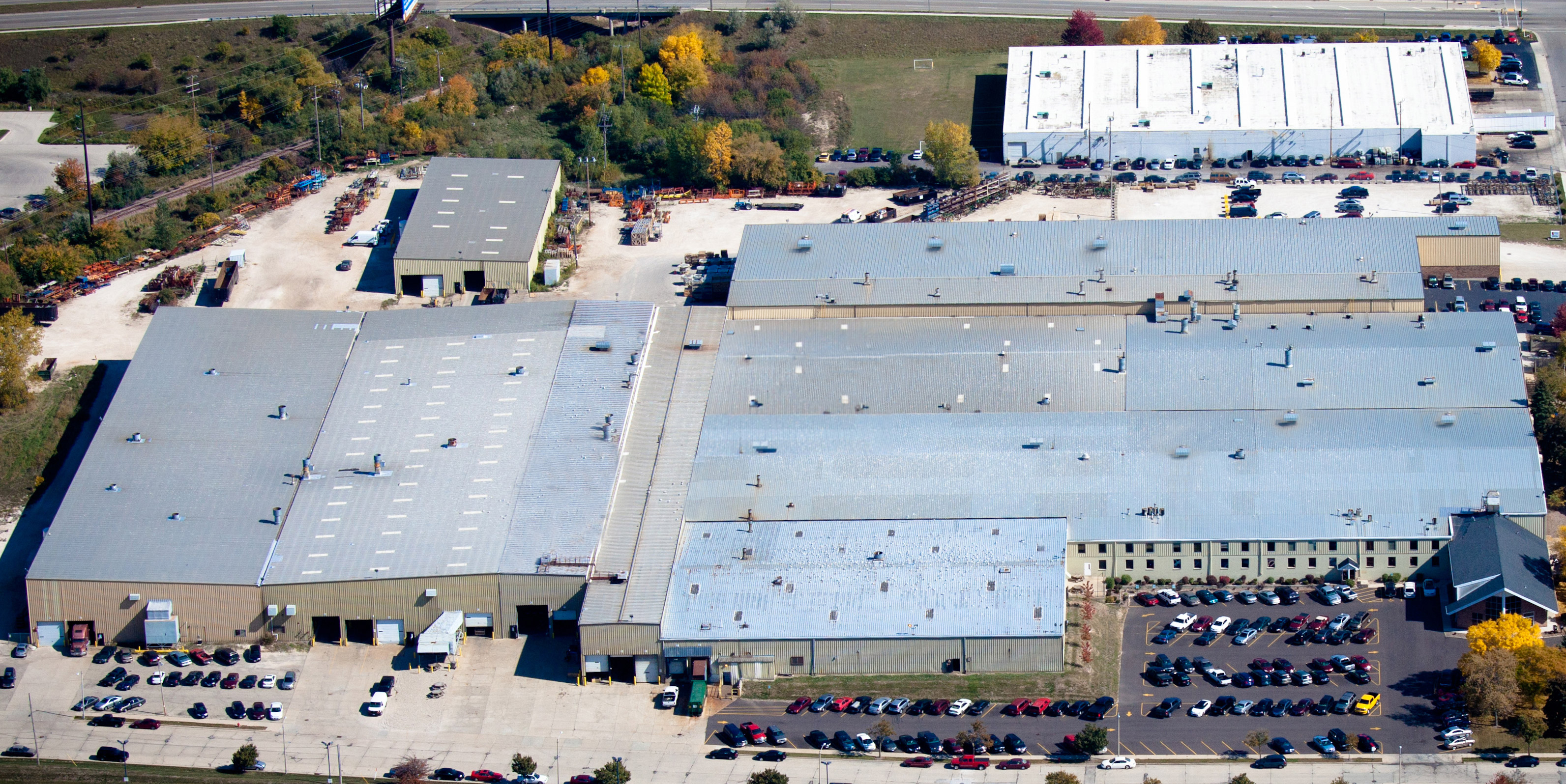 Aerial View of Facilities - Complete Manufacturing Solution Facility