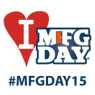I Heart Manufacturing Day 2015 logo