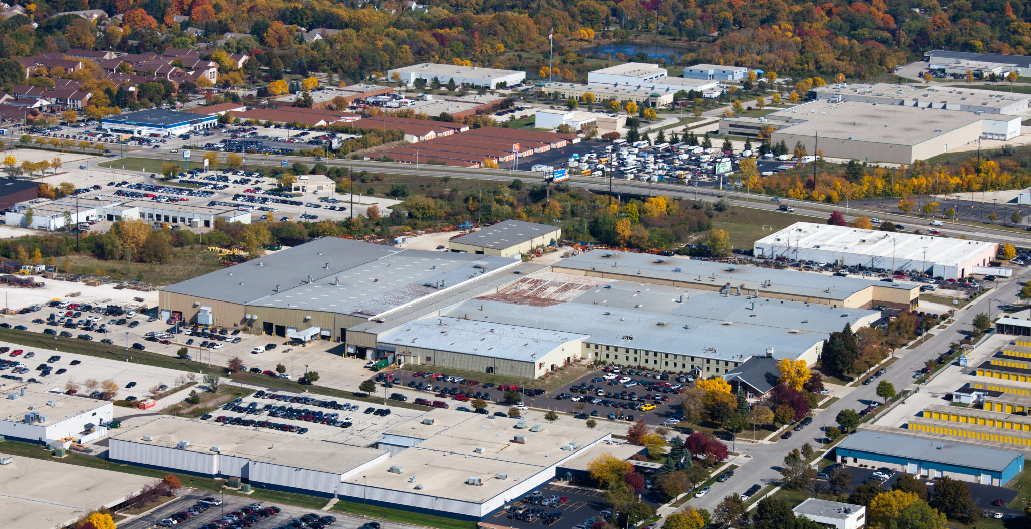 Aerial Image of Contract Manufacturing Facility